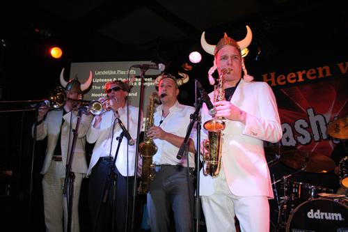 Hooter Tooter Band in De Heeren van Aemstel Amsterdam