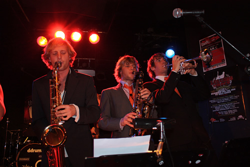 Nono and the Suncreamband in Plan C Rotterdam