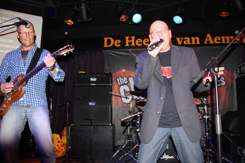Blue Flame in De Heeren van Aemstel Amsterdam