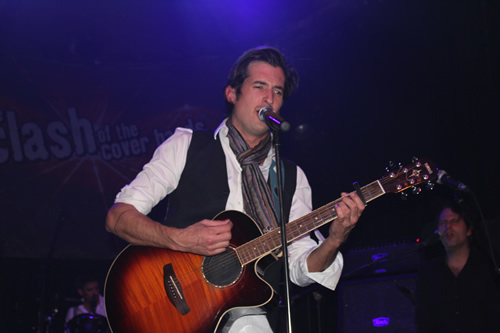 Gorgeous George in Hotel Arena Amsterdam