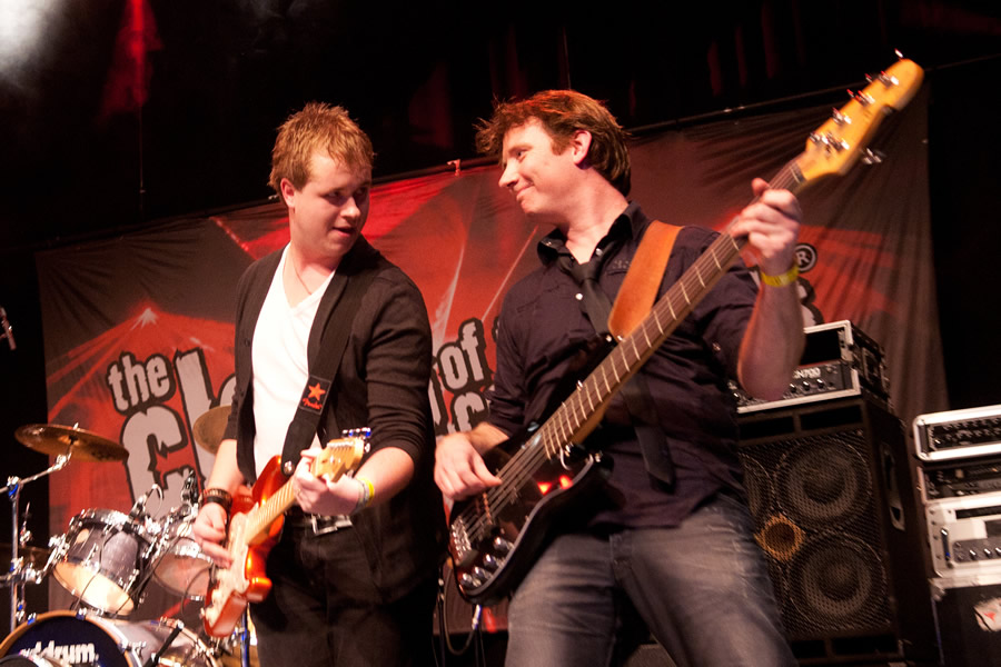 Sanne de Band in Podium de Vorstin Hilversum