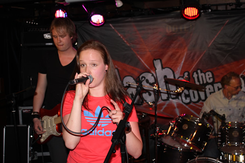 Sanne de Band in Scooter'S Leeuwarden