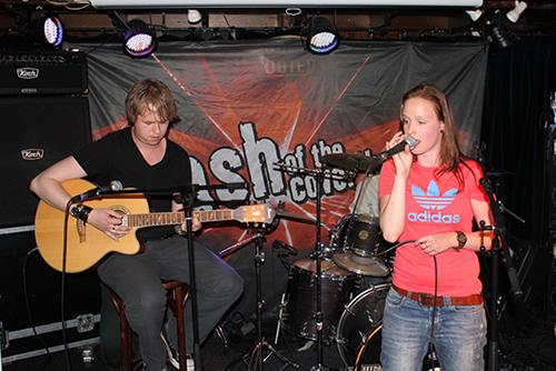 Sanne de Band in Scooter'S Leeuwarden
