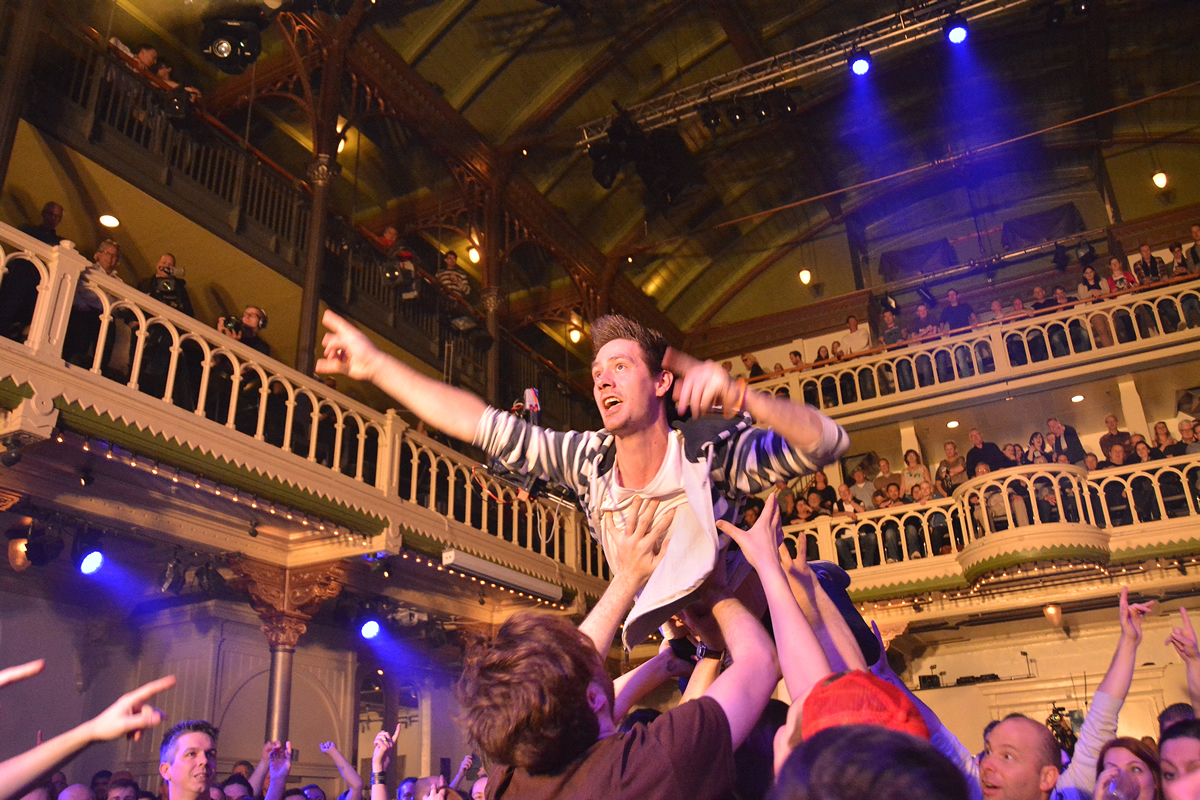 The Clash of the Cover Bands in PARADISO Amsterdam