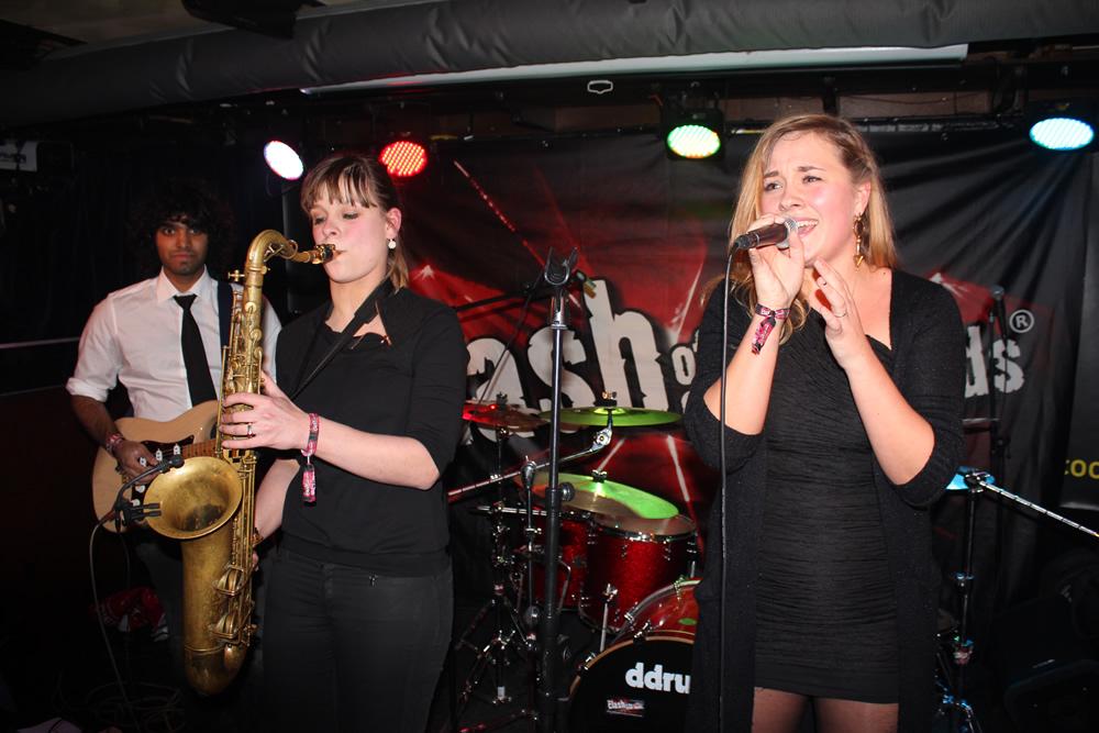 The Funky Five in Scooter'S Leeuwarden