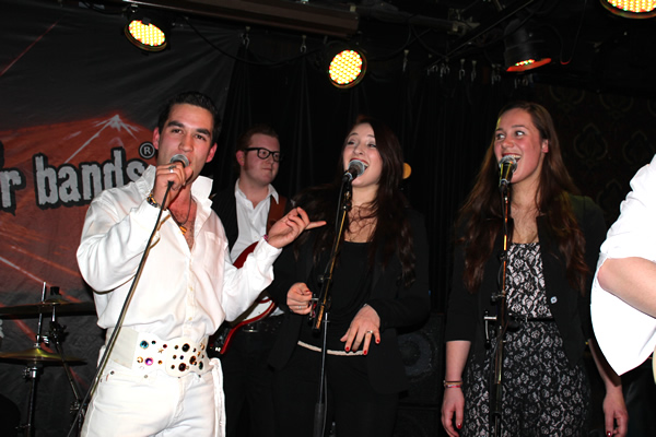 Calling Elvis in Wilhelmina Eindhoven