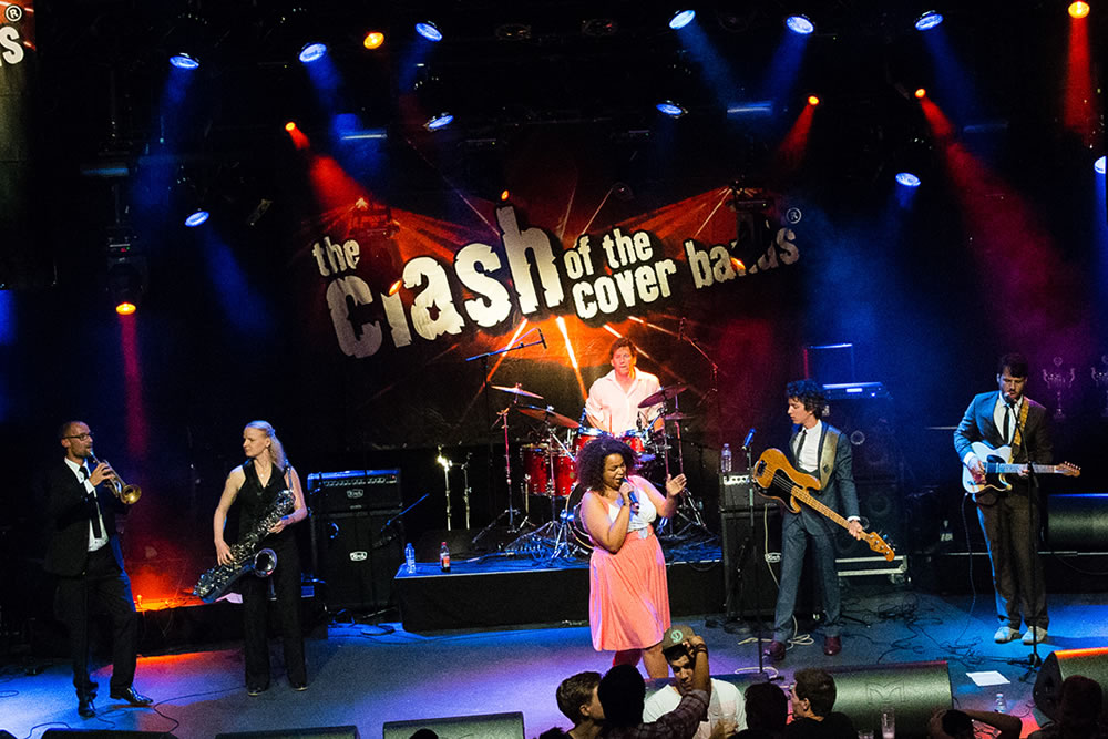 The Stax Soul Survivors in Podium de Vorstin Hilversum