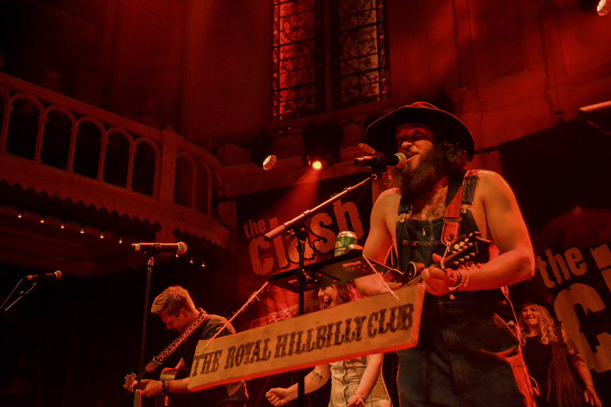 The Royal Hillbilly Club in PARADISO