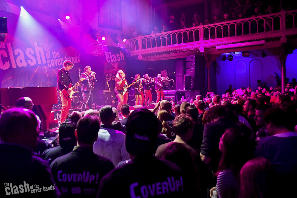 CoverUp! in PARADISO