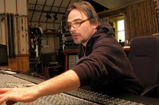 Belgische sound-engineer Werner Pensaert