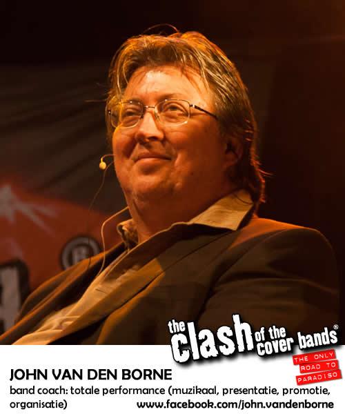 John Van den Borne - band coach