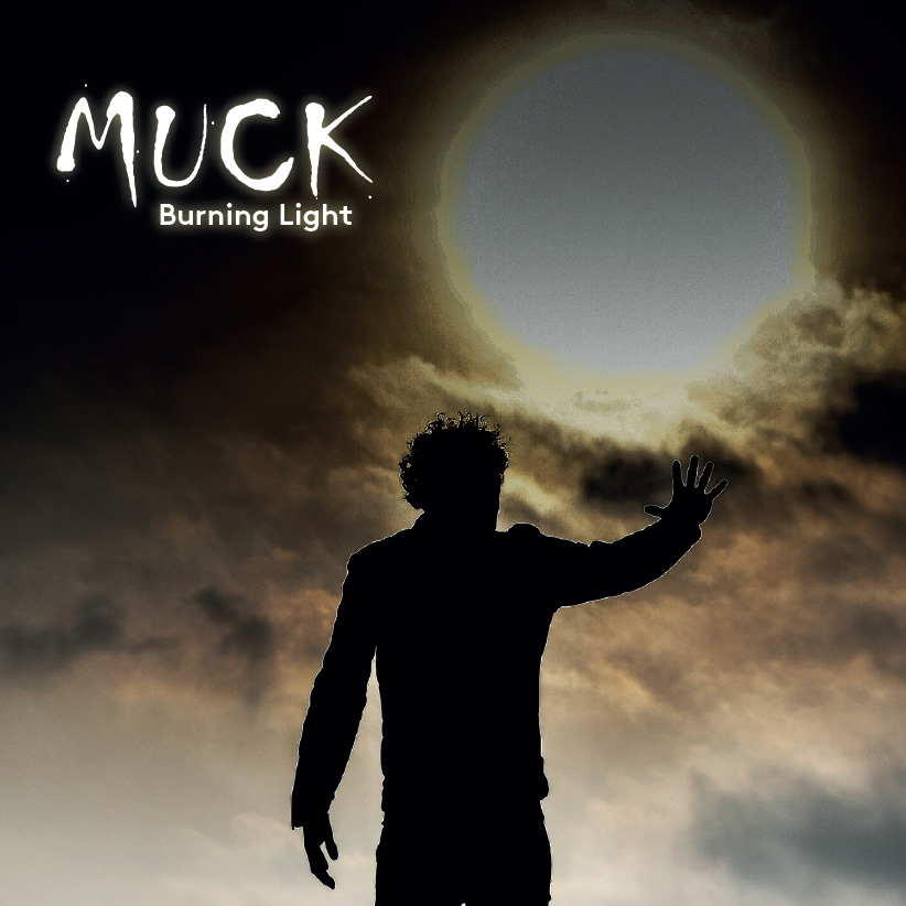 cd Burning Light van MUCK