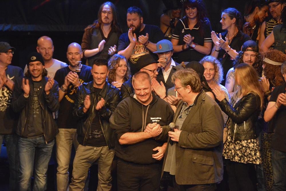 1st BENELUX Semi-Final Podium de Vorstin