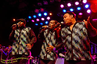 Earth, Wind & Fire Experience in Paard van Troje