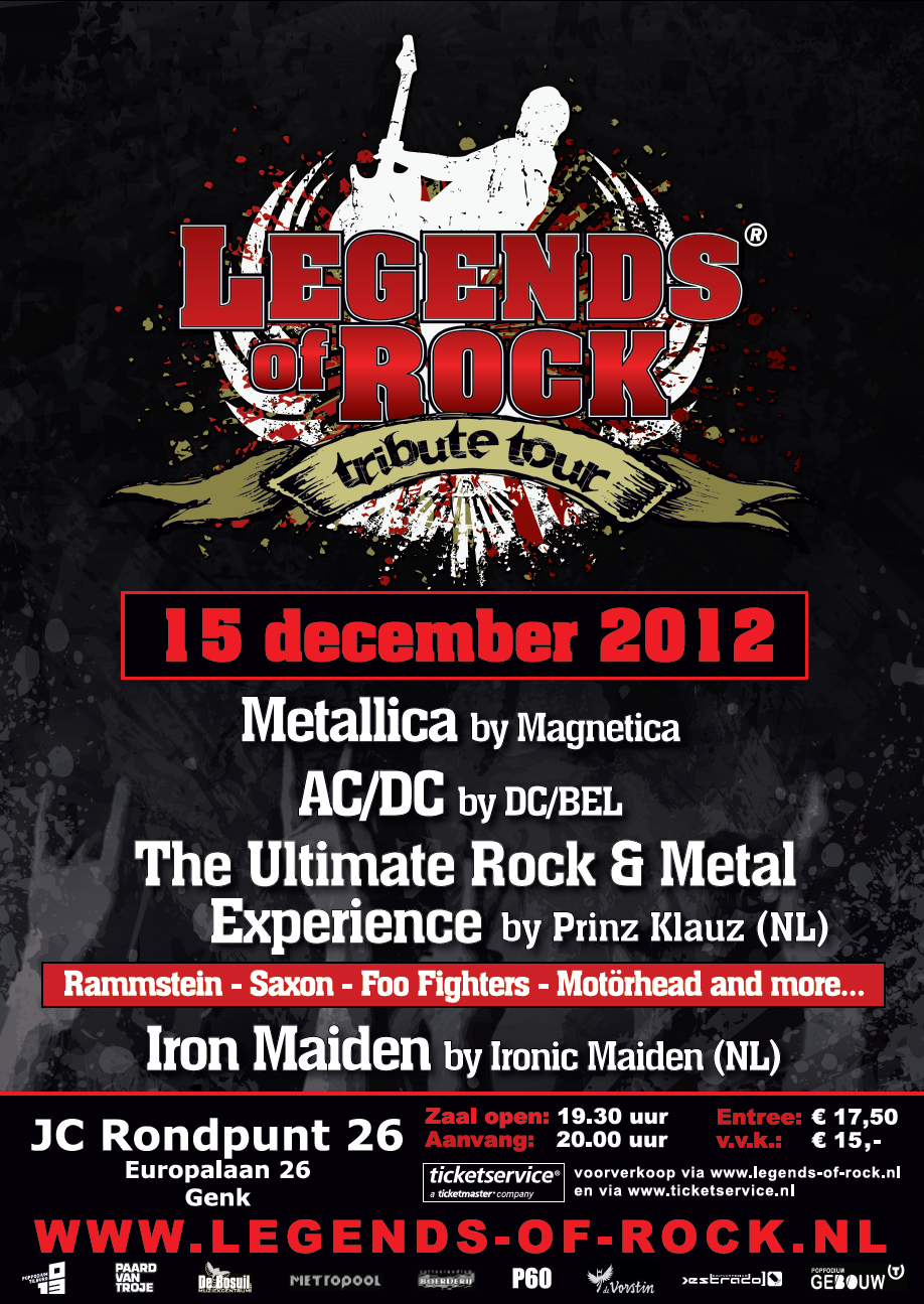 LEGENDS of ROCK Tribute Tour in Genk